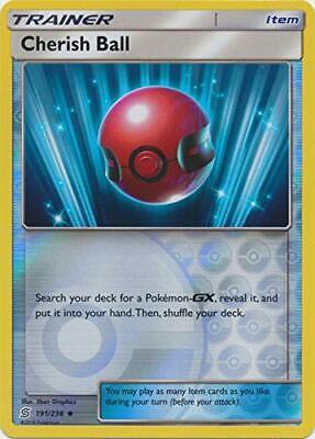 Pokemon Unified Minds Cherish Ball 191//236 Uncommon M//NM