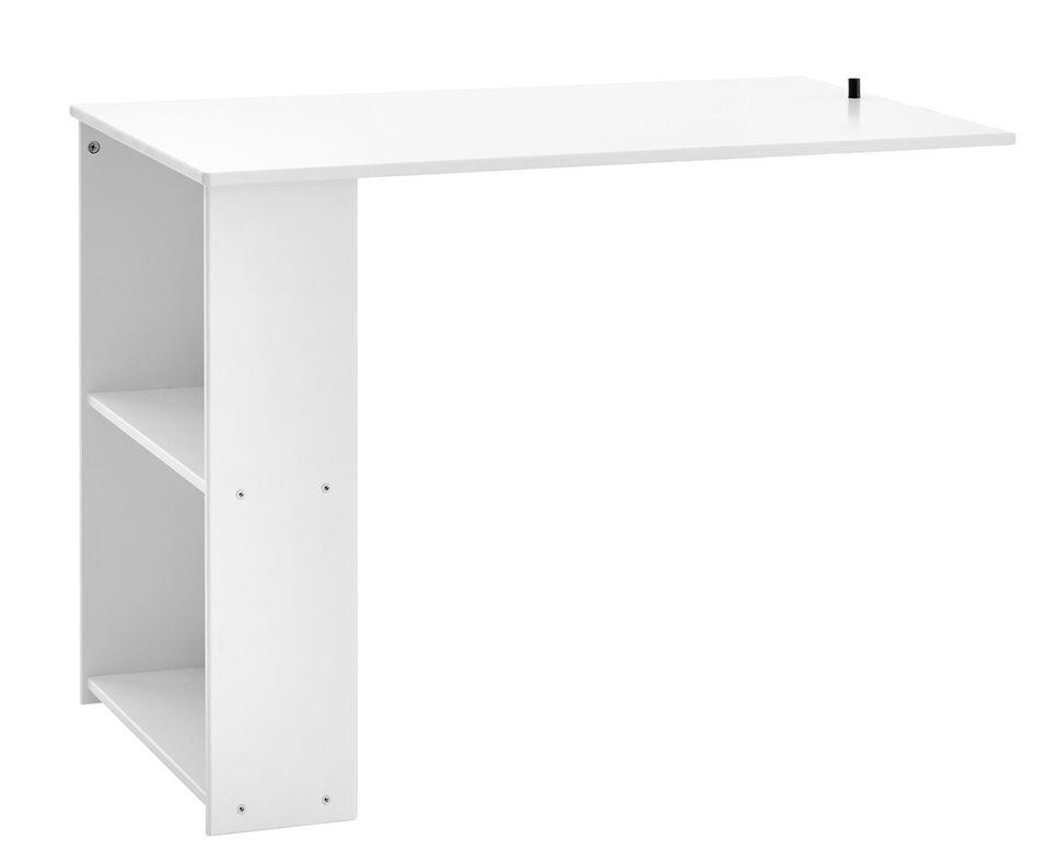 Andet, b: 96 cm, Flexa Basic Nordic udtræksskrivebord