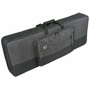 Stagg KTC-130 61-Note Lightweight Keyboard Soft Case with Wheels Black