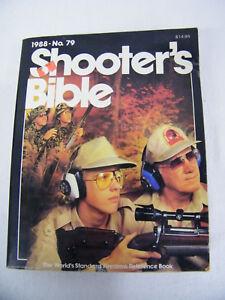 1988 Shooters Bible Nº 79 Edition-afficher Le Titre D'origine