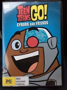 Teen-Titans-Go-Cyborg-and-Friends-DVD-Aus-Region-4-Fast-Free-Post