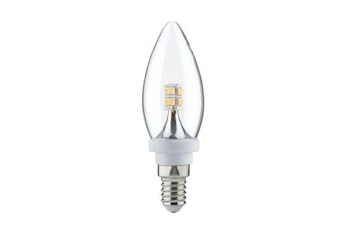 282.61 Paulmann E14 Fassung LED Kerze 2,5W E14 230V Klar 2700K Birne 28261