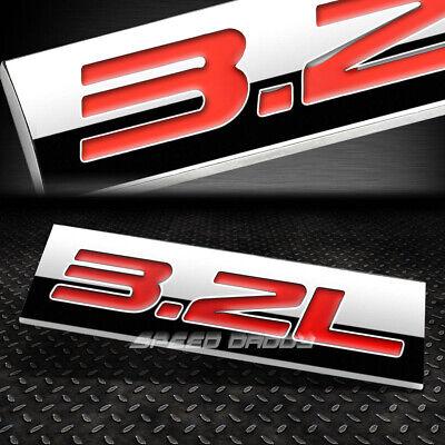 METAL TRUNK BUMPER EMBLEM DECAL FENDER GRILL LOGO TRIM BADGE CHROME 1.6T 1.6 CAR
