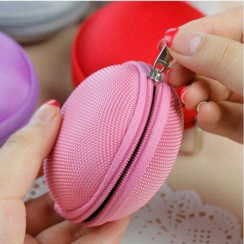 Portable Key Headsets Headphone Earphone Coin Bag Wallet Purse Hand Bag Package