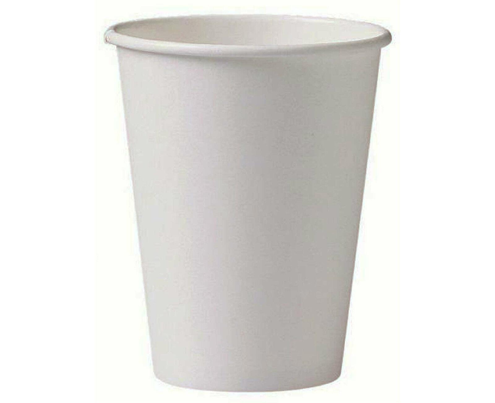 1000 X 16oz blanc Paper Cups Disposable Parcravates Events Hot & Cold Drinks
