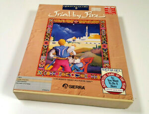 Quest-for-Glory-II-Trial-By-Fire-Sierra-Big-Box-Original-Amiga-Spiel-Disketten