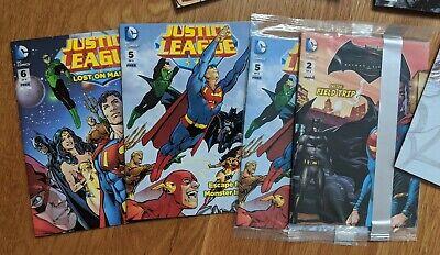 General Mills Batman Vs Superman Dawn Of Justice Mini Comic #4 League GM DC MIP