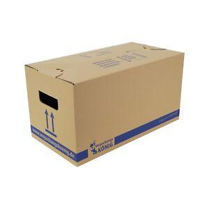 30 Umzugskartons Profi 2-wellig XXL Umzug Boxen Kiste Doppelter Boden Karton