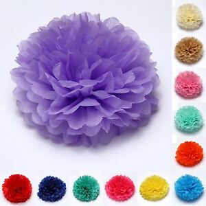 12 diy wedding partys home outdoor decor tissue paper pom poms image is loading 12 034 diy wedding party 039 s home mightylinksfo