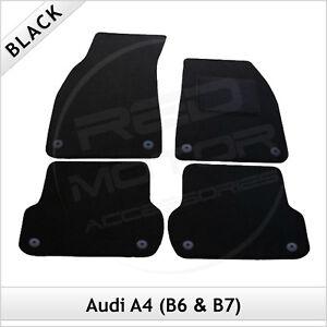 Audi-A4-Avant-Estate-B6-2001-2005-Tailored-Carpet-Car-Floor-Mats-BLACK