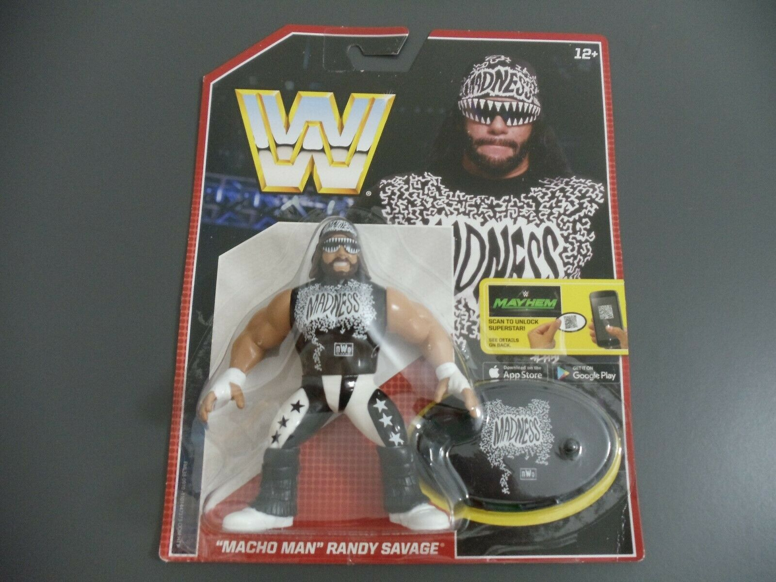 WWE MATTEL RETRO MACHO MAN RANDY SAVAGE (WWF HASBRO)