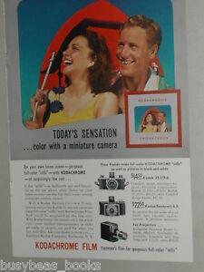 1941-KODAK-Camera-advertisement-Kodachrome-Film-Miniature-35mm-cameras