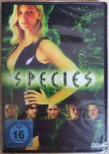 Species DVD nuevo Natasha Henstridge New sealed Deutsch English espanol