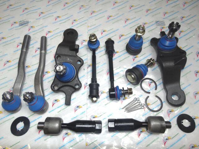 10PCS Suspension & Steering Kit For 96-02 4Runner K90262 K90255 K90681 ES3547