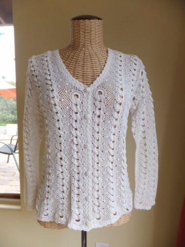 1950 China Vintage Handmade Crochet Cotton Women T