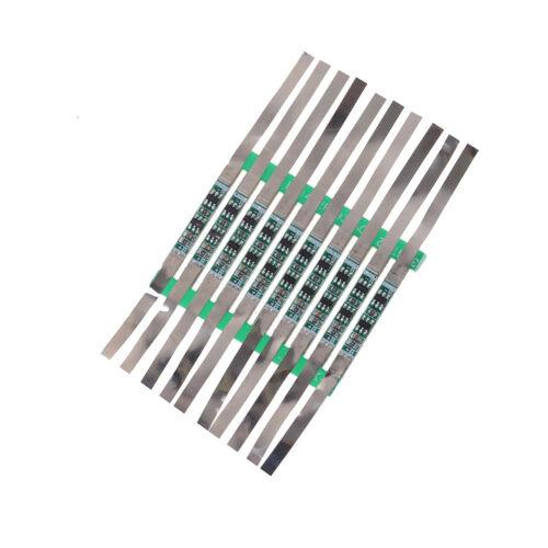 10X 3A Schutz Board Für 3,7 V 18650 Li-Ion Lithium-Batterie W //Solder Belt AB