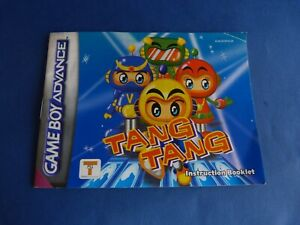 Game Boy Advance - Instruction Booklet - Mode D'emploi Du Jeu Tang Tang 6pk1jbiu-07182004-176604458