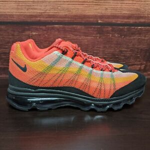 Details about Nike Air Max 95 DYN FW Men's 8 Dynamic Flywire Sunset running shoes (554715-838)