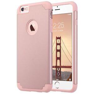 Apple Iphone 6s Plus Case Ulak Slim Dual Layer Protective Cover Rose