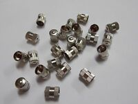 Tire Valve Stems Metal Caps Dome Type High Temperature 100 Qty Free Ship