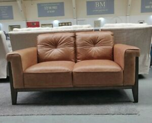 Enjoyable Details About Distressed Leather Sofa Love Seat Burnt Orange Liquidation Stock Rrp 1599 Ocoug Best Dining Table And Chair Ideas Images Ocougorg