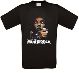 Murder Rock resonné d/'horreur Culte Movie T-Shirt Toutes Tailles Neuf