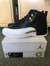 b88111f43d8e Mens Nike Air Jordan 12 Wings Black metallic Gold-white 848692-033 ...