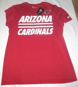 Arizona Cardinal s Shirt Men s Nike NFL Dri-Fit Cotton Logo ... fd7e5861b