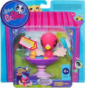 NEW-HASBRO-LITTLEST-PET-SHOP-SPLASHIN-039-SWAN-BATH-SET-A5129