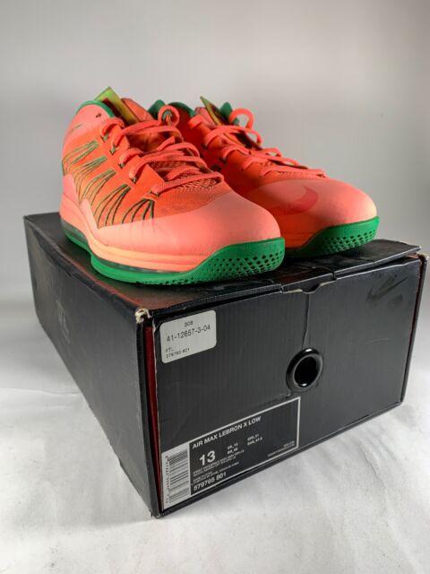 nike air max lebron x low watermelon