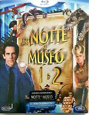 Una Notte Al Museo 1 & 2 Blu-Ray Dvd Sigillato