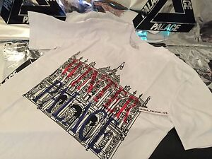 fd47ebc6a450 Image is loading PALACE-SKATEBOARDS-SS16-XLARGE-WHITE-WINTER-LONDON-TEE-