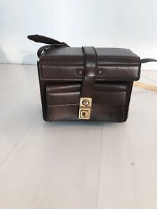 Der GüNstigste Preis Kameratasche Vintage 70er/80er Braun 100% Garantie