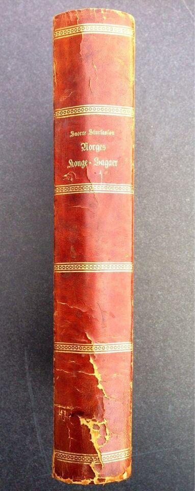 Norges konge-Sagaer fra de ældsteTider , Snorre
