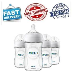 Philips Avent Natural Baby Bottle 9oz 4pk Teal SCF013//44