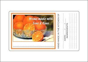 Preserves-Jam-Jar-Labels-Stickers-Picture-of-Orange-Laser-Printed