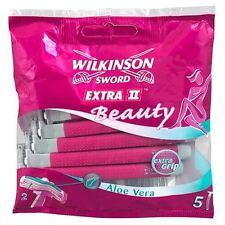 Wilkinson Sword Extra 2 Beauty 5 Razors | Aloe Vera
