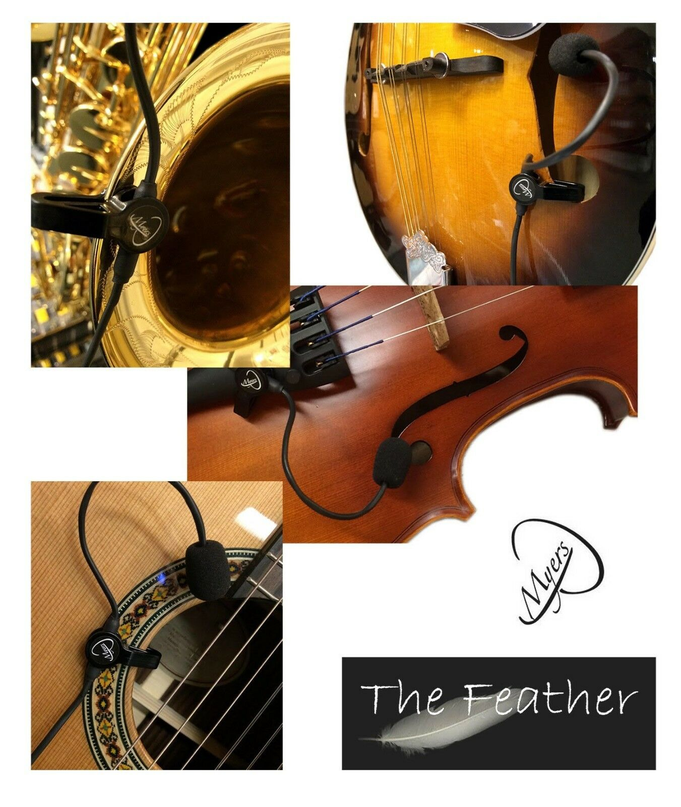 la pluma  micrófono para guitarra de de de golpe por Myers Pastillas 1730cc