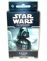 Star Wars The Card Game Force Pack - A Dark Time Swc04 60 Cards >new