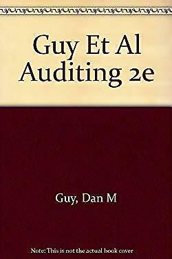 Auditing by Guy, Dan M.-ExLibrary