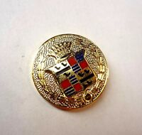 Cadillac Crest Logo - Lapel Hat Pin - Emblem Promo Part Advertising Harley Earl