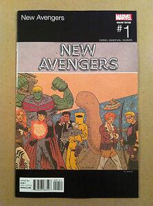 NEW-AVENGERS-V-4-1-ED-PISKOR-HIP-HOP-VARIANT-COVER-NM-NEAR-MINT-1ST-PRINTING