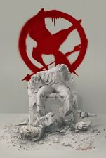 Hunger Games 4 Mockingjay original movie poster -  27x40 - Advance