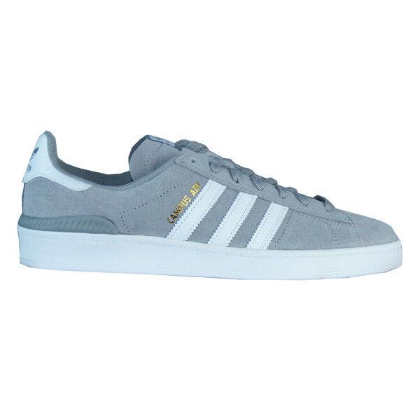 Adidas Campus Adv Hombres Retro Sb gris blancoo B43770 Nuevo