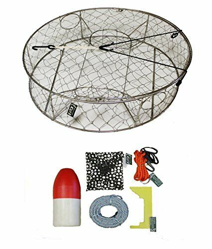 KUFA Stainless Steel  Crab Trap with Zinc Anode & Accessory Kit (CT100+CAC3)  latest styles