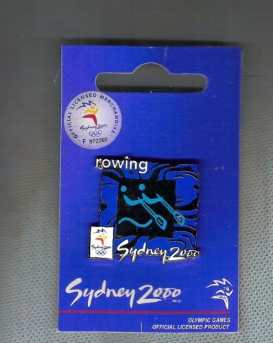 #P117. 2000 SYDNEY OLYMPIC PIN, ROWING