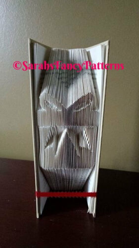 Christmas Present Gift Folded Book Art Folding PATTERN ONLY #555