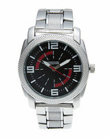 KENNETH COLE REACTION BLACK DIAL TWO-TONE ST. STEEL MEN'S WATCH 10017695 NEW