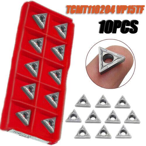 10pcs TCMT110204 VP15TF MITSUBISHI TCMT21.51 insert CNC blade lathe blade