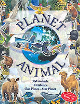 """VERY GOOD"" Planet Animals, Parker, Steve, Book"